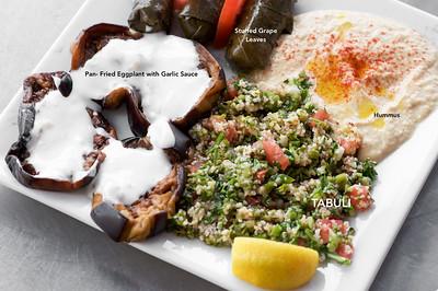 Soguk Mezeler ‐ Vegetarian