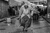 Market shopper, Balat, Istanbul, Turkey