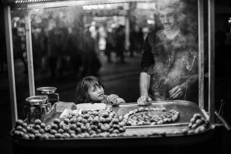 Daddy's helper, Taksim, Istanbul