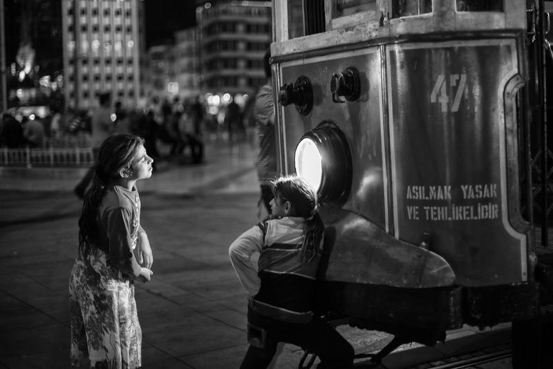 The spotlight, Taksim, Istanbul