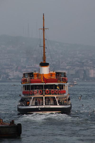 Departing, Istanbul, Turkey