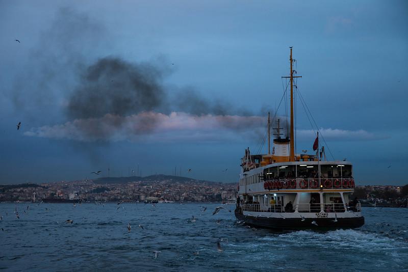 Smoke, Eminönü, Istanbul, Turkey