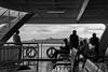 Ferry passengers, Istanbul, Turkey
