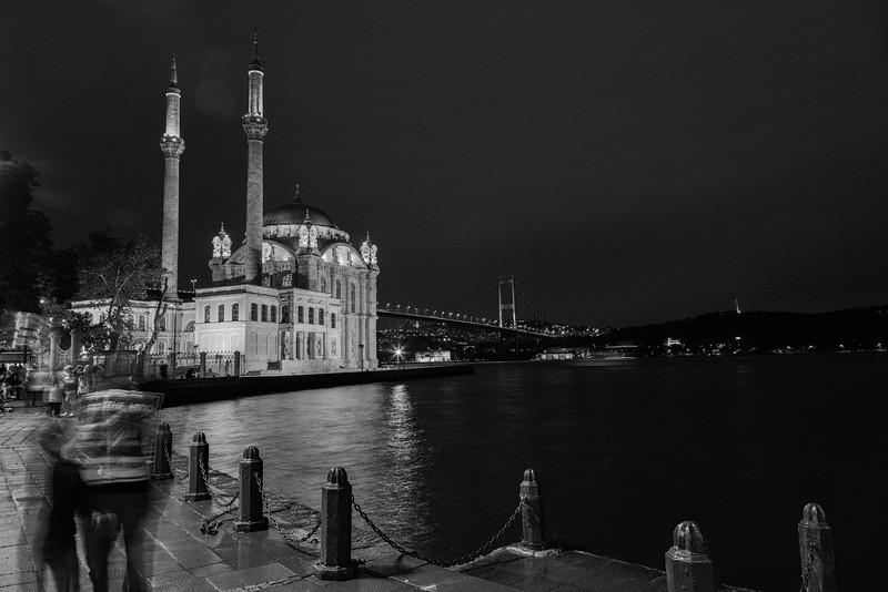 Ortaköy by night, Istanbul