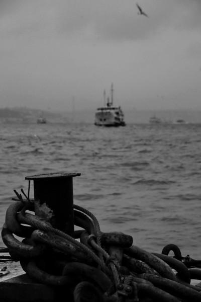 Dock, Eminönü, Istanbul, Turkey