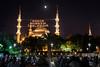 Mahya, Sultan Ahmet, Istanbul, Turkey