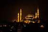 Illuminated, Süleymaniye Camii, Istanbul, Turkey