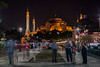 Beauty at night, Aya Sofya, Istanbul, Turkey