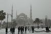 Winter tourist season, Istanbul