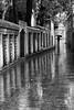 Rainy alley, Eyup, Istanbul, Turkey