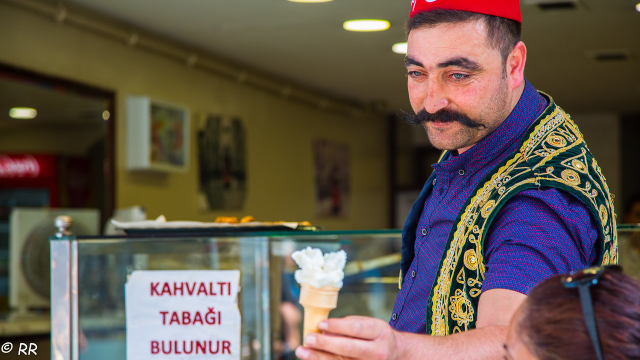 Turkish Ice-Cream Seller