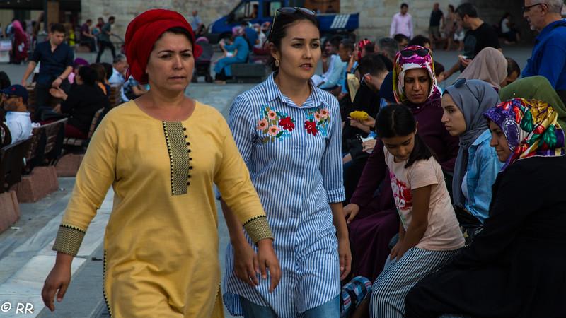People of Istanbul, Turkey