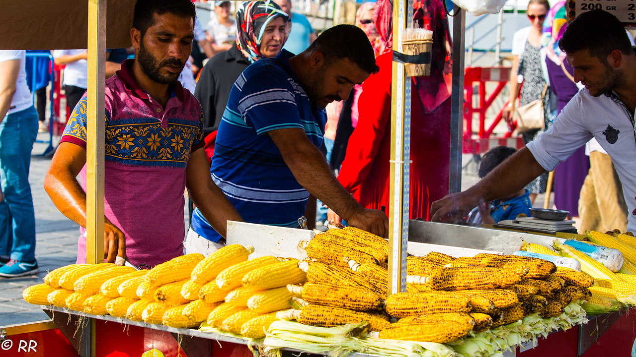 Istanbul Street vendors
