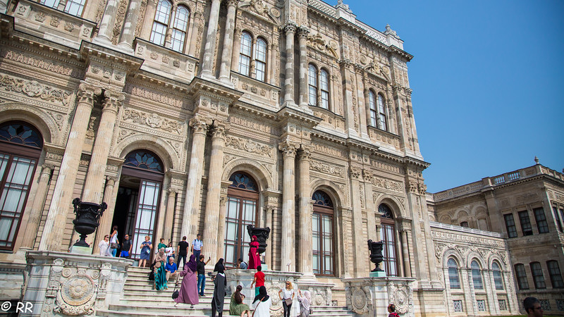 The Palace is one of the most fascinating palaces in the world built in 19th century, Ottoman architecture and it was located in an area of 110 thousand squaremeters. It is located along the European shore of the Bosphorus between the ports of Besiktas and Kabatas. the plan arrangement of Dolmabahce Palace is an adaptation of traditional Turkish house in grandeur scale, constructed with brick internal walls, stone external walls and timber floors.