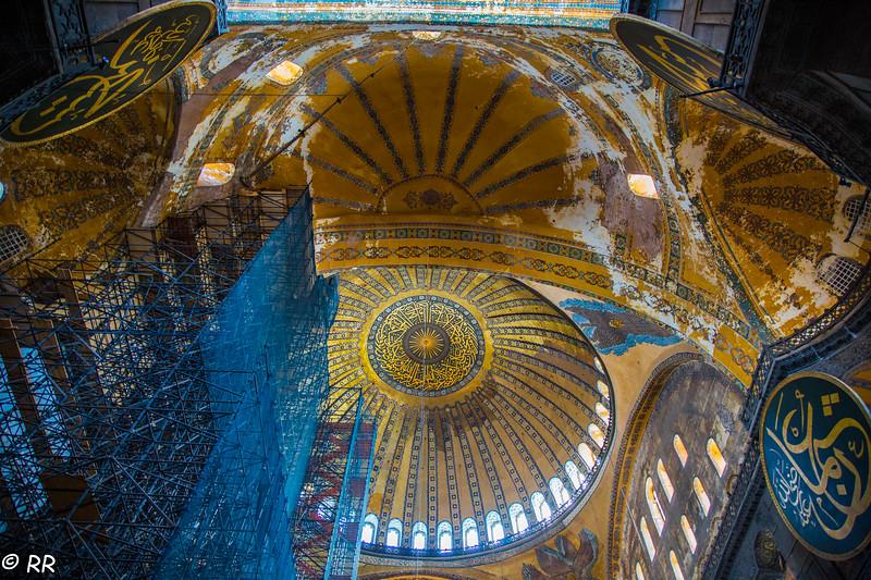 The Dome of Hagia Sophia