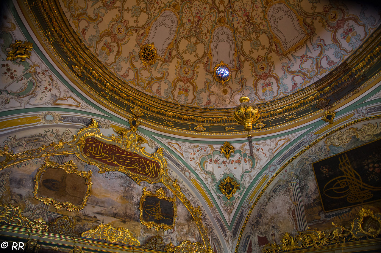 Interior of Topkapi Palace