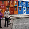 Merchant & Deborah with Colorful Buildings