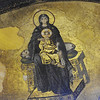 Painting of Jesus & Mary Inside Hagia Sophia