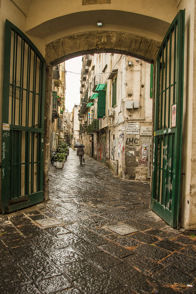 Rainy day in Naples