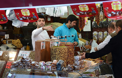 Egyptian Spice Bazaar/Covered Market, Istanbul.