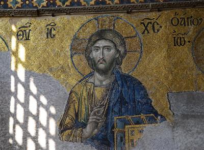 Deesis Mosaic in the Hagia Sophia, Istanbul
