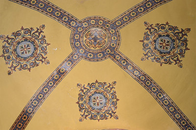 Ceiling painting in the Hagia Sophia, Istanbul