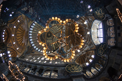 How the fish can see the moschea