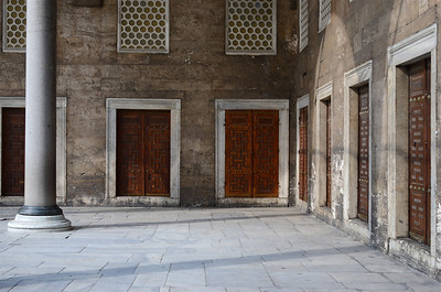 Courtyard of Sultan Ahmed Mosque or Blue Mosque, Istanbul