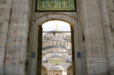 Sultan Ahmed Mosque or Blue Mosque, Istanbul