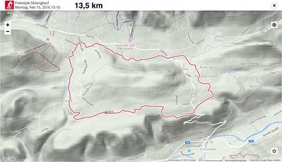 2016-2 Langlauftrainingslager Ramsau