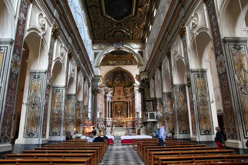 Interior da Catedral de Amalfi