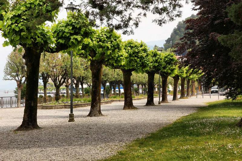 Jardim em Bellagio