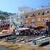 Cais na Ilha de Capri