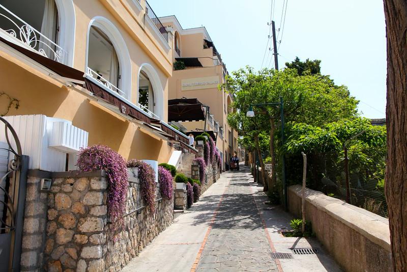 Via em Capri