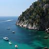 Litoral da Ilha de Capri