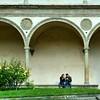 Claustro da Basílica de Santa Croce