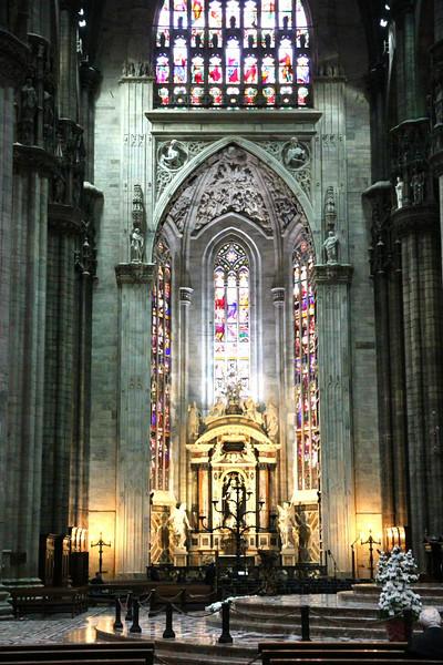 Interior da Catedral de Milão