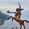 Escultura no Auditório Oscar Niemeyer