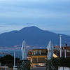 Vulcão Vesúvio visto de Sorrento