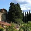 Castelo na Região da Toscana