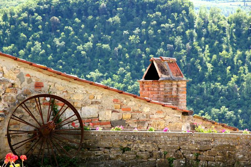 Detalhe Arquitetônico na Região da Toscana