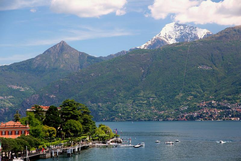 Vista do Lago Como