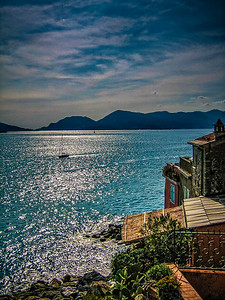 The Bay of Poets from Lerici