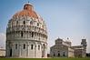 Bapisterio, Catedral y Torre de Pisa