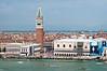 Plaza San Marco desde la isla San Giorgio Maggiore