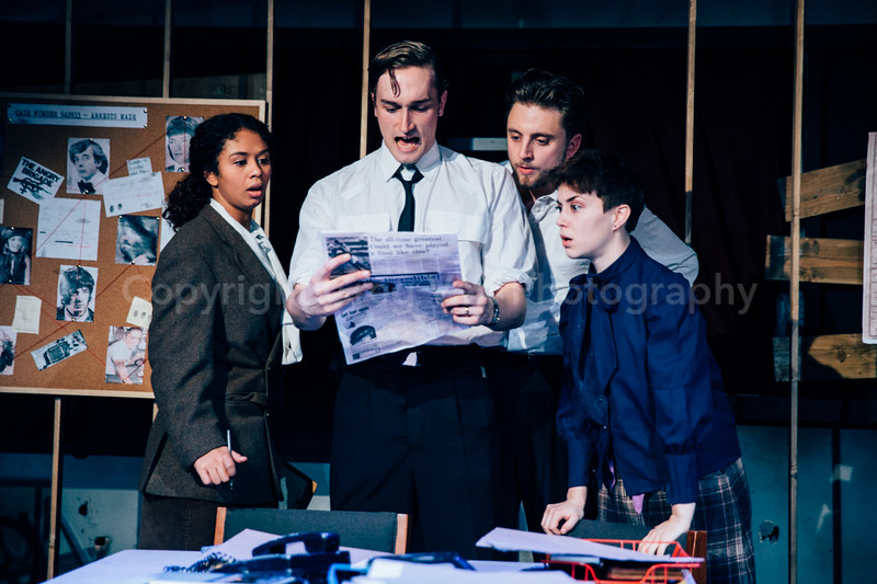 The Angry Brigade @ Italia Conti by Greg Goodale_159