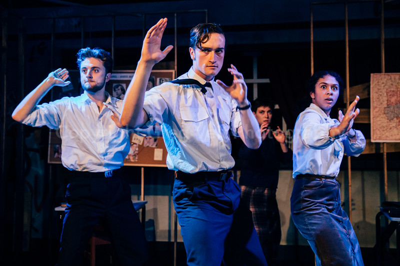 The Angry Brigade @ Italia Conti by Greg Goodale_226
