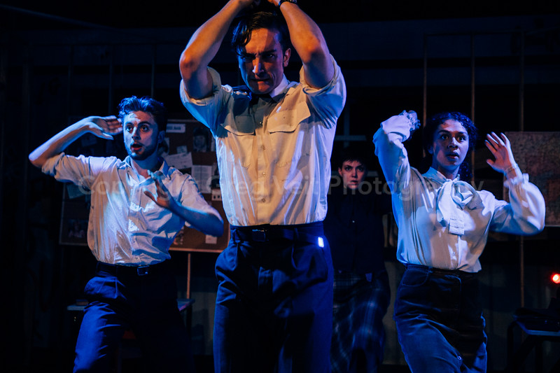 The Angry Brigade @ Italia Conti by Greg Goodale_229