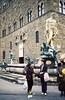 Estatua de Perseo en la Piazza della Signoria