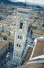 Toma del Campanile Di Giotto tomado desde la cúpula de la catedral